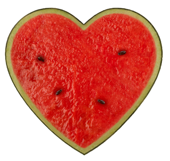 Heart-Plain-Watermelon